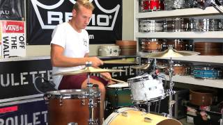 Roulette Custom Drums Workshop Grooves