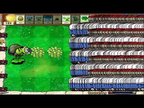 Xxx Mp4 99999 Zomboni Zombie Vs 1 Gatling Pea Epic Hack PvZ 3gp Sex