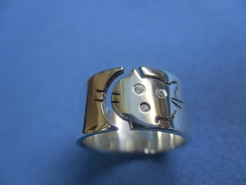 Отливка колец из серебра