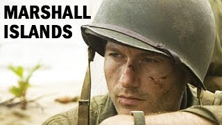 U.S. Marines Invade the Marshall Islands | World War 2 Newsreel | 1944