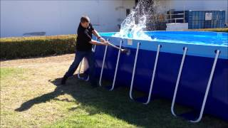 The New Quik Swim Pool by Splash-A-Round Pools