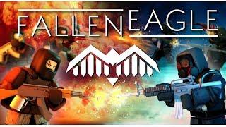 MY SECRET ROBLOX GAME - Fallen Eagle! (Roblox Game)