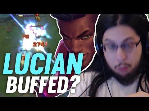 Imaqtpie LUCIAN GOT BUFFED ft. Some guy who s not Swifte