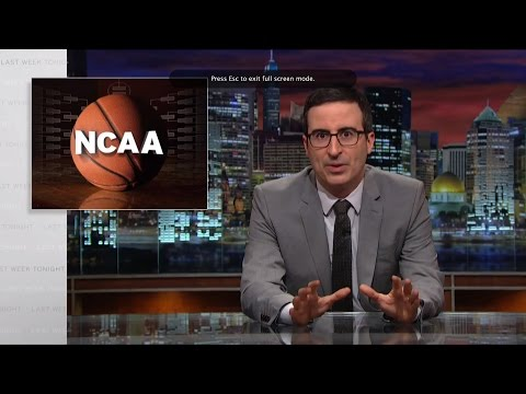 The NCAA Last Week Tonight with John Oliver HBO