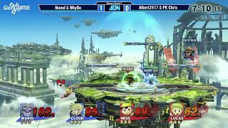 AON smash 4 #48 doubles whydo & munel vs Albert2417 & pkchris