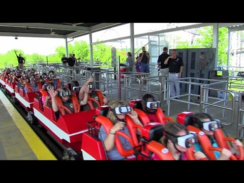 Xxx Mp4 First Riders On The New Revolution At Six Flags St Louis HD Off Ride 60fps 3gp Sex