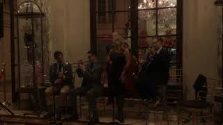 "The Glenn Crytzer Quintette, ""If I Had You"" at the Plaza Hotel"