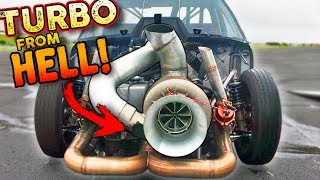 The BIGGEST Turbo We've EVER Seen! *not photoshopped*