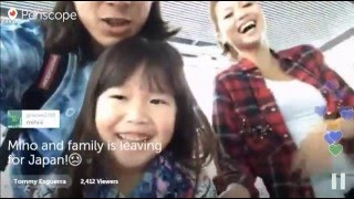 Miho and family is leaving for Japan! =(