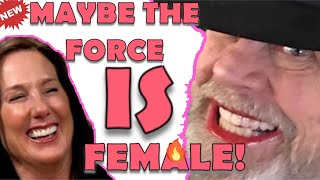 """MARK HAMILL ABDICATES HIS WEENER: """"LET WOMEN TAKE CHARGE.""""   KK cackles In distance...."""