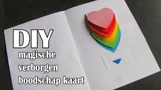 DIY Moederdag Kaart Met Magische Verborgen Boodschap