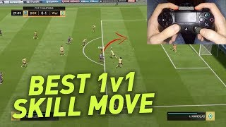 BEST 1v1 SKILL MOVE IN FIFA 18 - HEEL TO HEEL FLICK TUTORIAL
