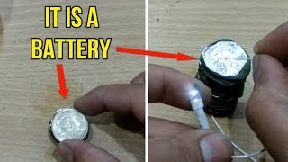 How to make a COIN BATTERY ! | Fun Experiment | Life Hacks