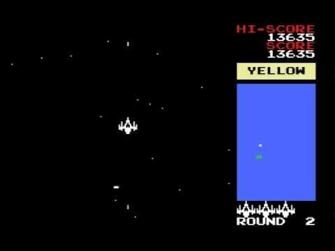 Bosconian MSX صخر namco 1981 1984 Round 1 3.