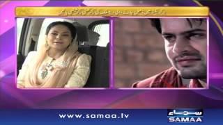 Veena Malik ki mehmaan nawazi - Samaa Kay Mehmaan - 15 Feb 2016