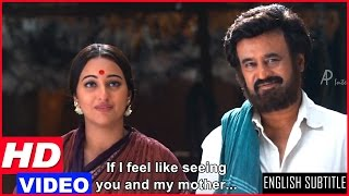 Lingaa Tamil Movie Scenes HD | Rajinikanth Refuses To Go To His Village | Sonakshi Sinha | AR Rahman