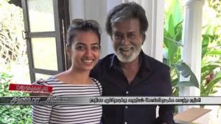 Superstar Rajini Encouraged Actress Radhika Apte in Kabali Shoot - Dinamalar Video