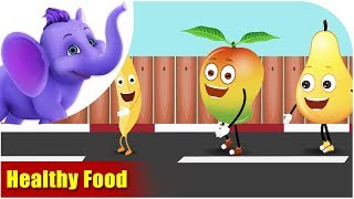 Healthy Food - Values to live by songs (4K)
