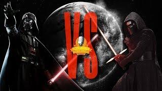 Darth Vader VS Kylo Ren Rap Battle EPIC - Star Wars The Last Jedi | Daddyphatsnaps