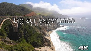 [4K] The BIG SUR EXPERIENCE: 4HR Real-Time Nature Relaxation™ Ambient Film [Remastered] California