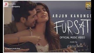 Arjun Kanungo - Fursat | Feat. Sonal Chauhan | Official remix Song| lyrics Video | dj Vedant patwa