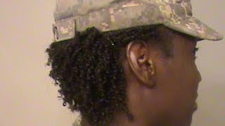 MILITARY BOUND:Natural hair and the Military??!!!