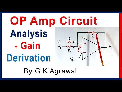 Xxx Mp4 Op Amp Basic Voltage Gain Equation Using KCL 3gp Sex