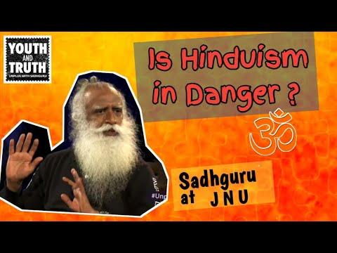 Xxx Mp4 Is Hindu Religion In Danger Sadhguru At JNU 3gp Sex