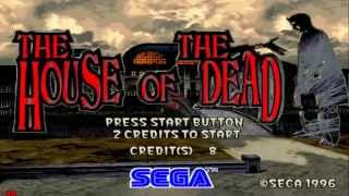 the house of the dead 1 perfect arcade run 1080p sega model 2 PC 2015 60fps
