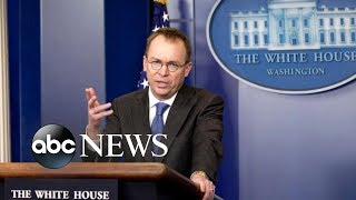 Mulvaney is set to replace Kelly as interim White House chief of staff