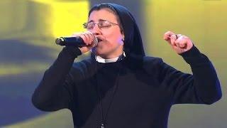 ذا فويس الايطالى | راهبة تشترك فى برنامج تبهر الجميع بجمال صوتها وتفوز بلقب أحلى صوت