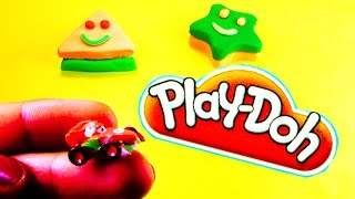 Play Doh Shapes Surprise Eggs Disney Pixar Cars Micky Mouse