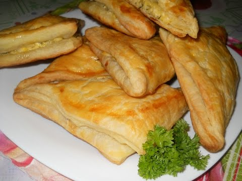 рецепты хачапури из слоеного теста с сыром в духовке