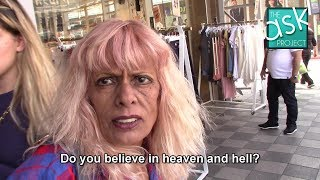 Israelis: Do you believe in heaven & hell, angels & the devil?
