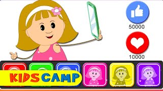 Wrong Face Silly Funny Selfie Colors Face With Elly Learn Colors With Wrong Colors Video by KidsCamp