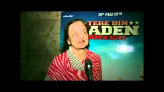 Asha Parekh on Tere Bin Laden : Dead or Alive