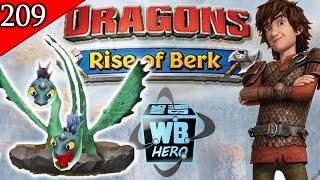 Whip & Lash Dragon! Titans- Dragons: Rise of Berk [Episode 209]