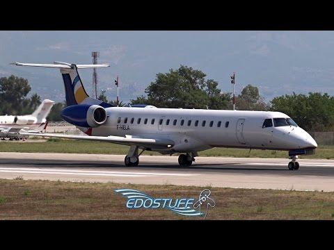 ENHANCE AERO - Embraer ERJ-145EU F-HELA - Takeoff from Split Airport LDSP/SPU