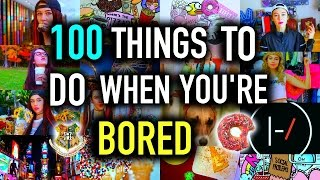 100+ Things to do When You're BORED!  | DIY Jessiepaege