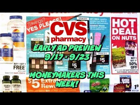 **CVS EARLY AD PREVIEW** 9/17 - 9/23 | MONEYMAKER DEALS!!!  💰💰