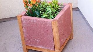 DIY Paver Planter