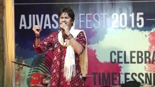 Chandra Bhanu's Performance at Ajivasan Fest, 2015