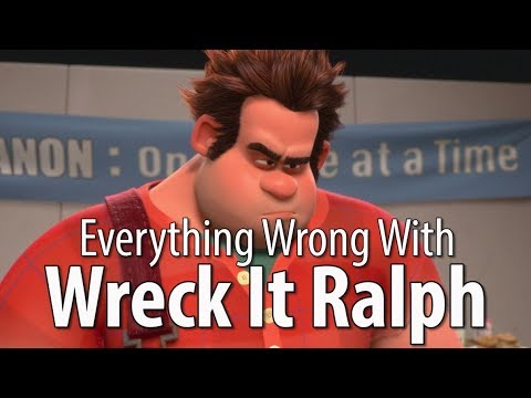 Everything Wrong With Wreck It Ralph In 15 Minutes Or Less