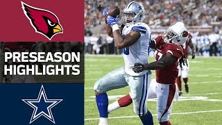 Cardinals vs. Cowboys | Hall of Fame Game Highlights