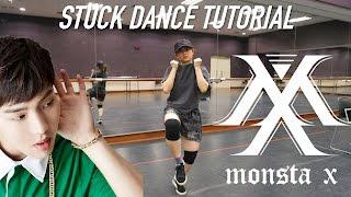 MONSTA X Stuck(네게만 집착해) Dance Tutorial (FULL with mirror)