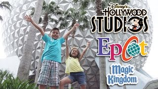 DISNEY WORLD FINALE!!! Epcot Center, Disney's Hollywood Studios & Magic Kingdom!