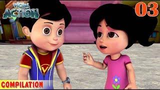 Vir : The Robot Boy   Vir Action Collection - 3   Action series   WowKidz Action