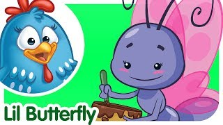 Lil Butterfly - UK - Kids Song with lyrics