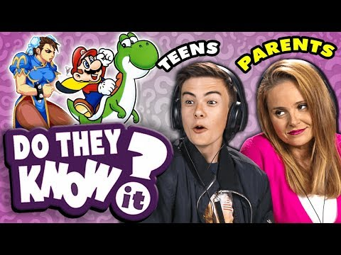 Do Teens Know Their Parent s Favorite Video Game React Do They Know It