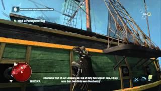 Assassin's Creed 4 Black Flag - Gameplay Walkthrough Part 34: Black Bart's Gambit